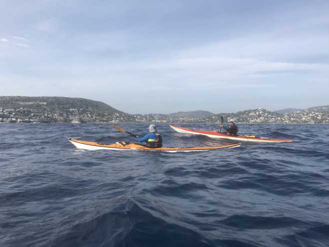 Crossing the Aegean with kayaks: From Sounio to Santorini