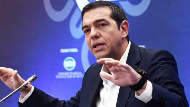 Tsipras at Delphi Economic Forum: Today Greece and North Macedonia are not the two parts of a difficult riddle
