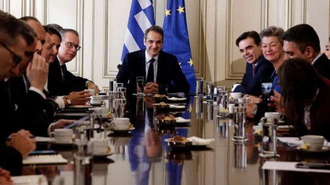 Mitsotakis: Greece relies on EU solidarity to address refugee crisis