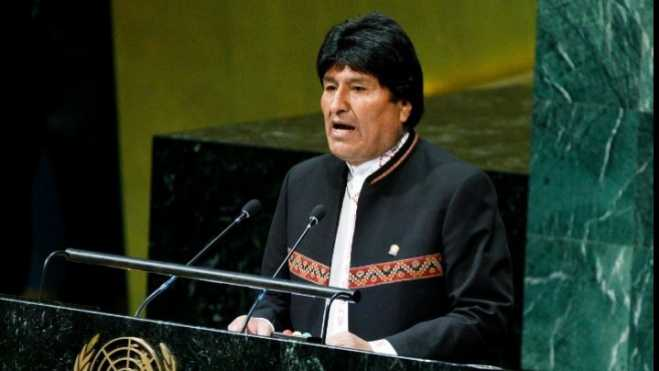 Bolivian president in Athens on Thursday