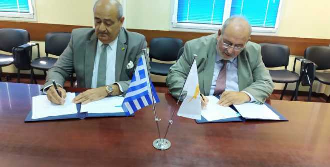 Greece and Cyprus co-operate in the EDIDP European defense program