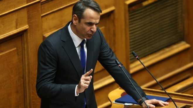 Mitsotakis: Vote of confidence the 'last act of a political farce'