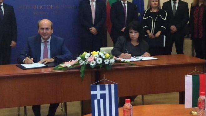 Greek, Bulgarian Energy ministers welcome signing of IGB pipeline agreement in Sofia