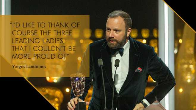 Lanthimos rakes in BAFTA awards