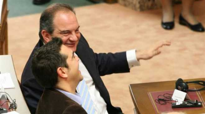 Tsipras attacks former PM Karamanlis