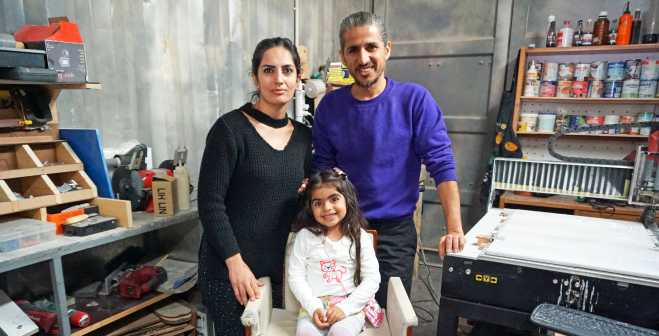 Iraqi family finds work and independence on Greek island of Kos