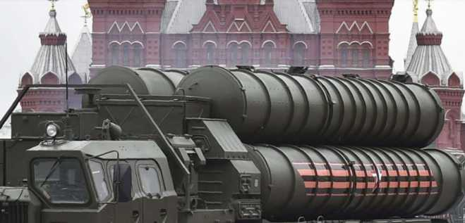 First Russian S-400 system en route to Turkey