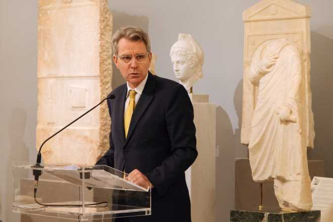US ambassador Pyatt at Atlantic Council: Washington dedicated to every dimension of alliance with Greece