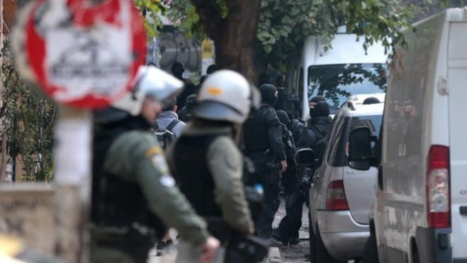 Police operation underway in apartment building in Exarchia