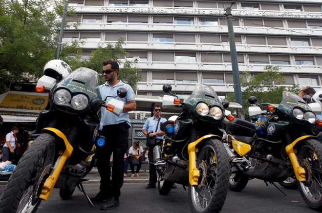 "276 Motorcycle ""vanish"" from Athens municipality garages"