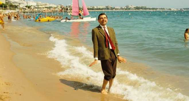Mr Bean is enjoying a Summer Holiday in Greece