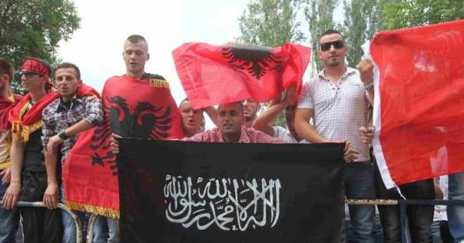 Albania on the brink of civil conflict