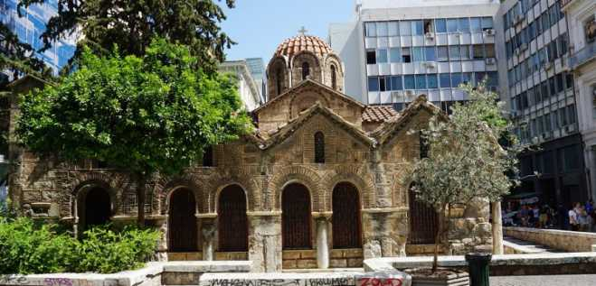 Walk Through Byzantine Athens