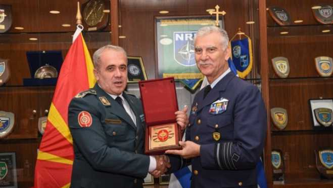 Greece, North Macedonia's army chiefs sign airspace patrol agreement