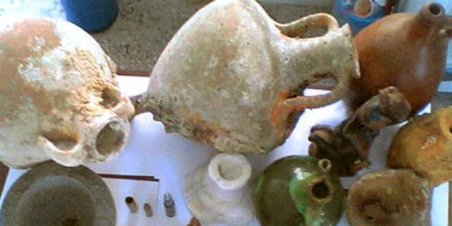Kalymnos: Arrests for illegal possession of antiquities