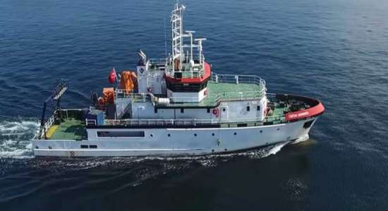 A research vessel is being sent by the Turks between Rhodes and Kastelorizo