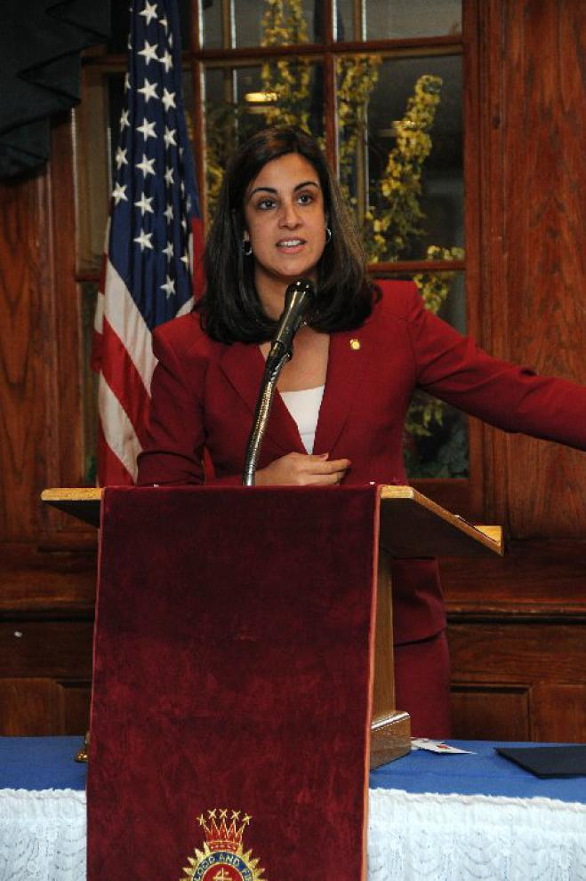 Nicole Malliotakis sworn in as as representative of the New York's 11th Congressional District
