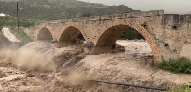 Crete devastated by severe weather