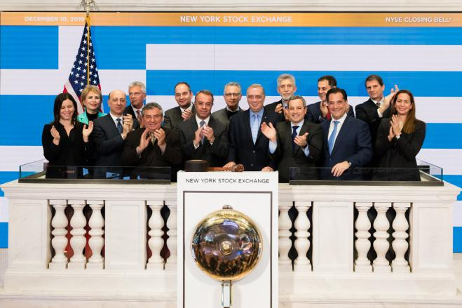 Greek American Issuer Day at NYSE, New York, December 10, 2019