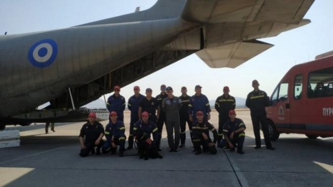 Greek emergency rescue team departs for Lebanon