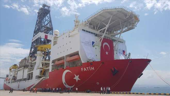 "Cyprus calls Turkish energy exploration a ""second invasion"""