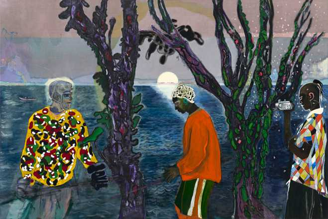 George Economou gifts Peter Doig's Two Trees to Met