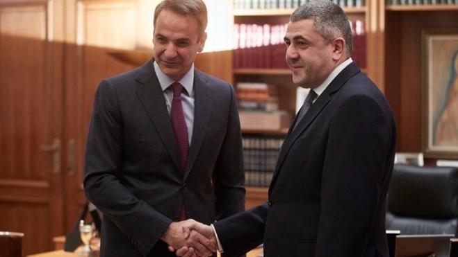 PM Mitsotakis and UNWTO chief Pololikashvili discuss sustainable tourism