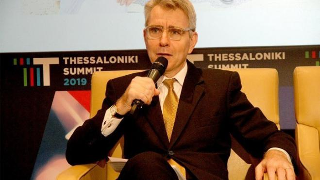 US Ambassador Pyatt at Thessaloniki Summit 2019: 'Energy collaboration the brightest aspect of Greece-US relations'