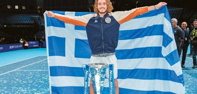 Stefanos Tsitsipas: I want to win a Grand Slam in 2020 (vid)