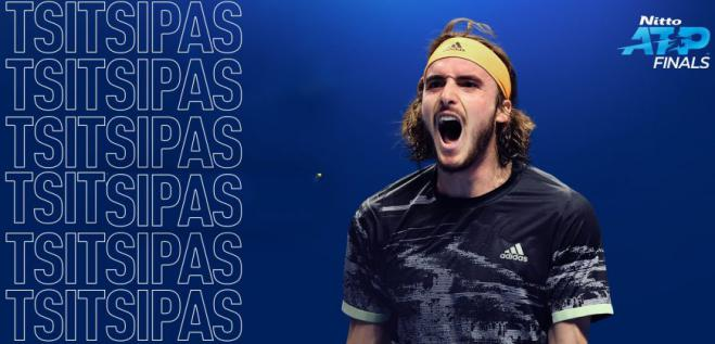 Tsitsipas triumphs in ATP Finals beating Thiem (2-1) in the final