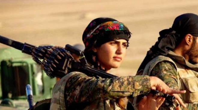 Kurdish Amazons face off with Turkey… again (vid)