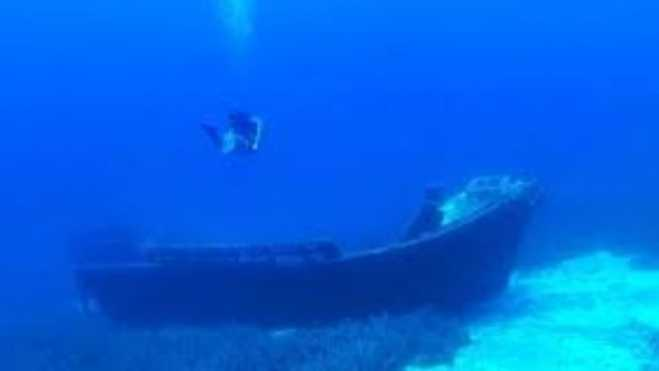 Classical-era shipwreck at Peristera accessible from next summer