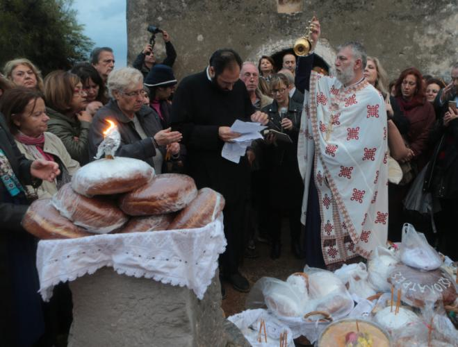 An ancient tradition under a modern guise celebrated at ancient Eleusis
