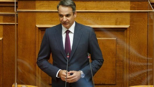 PM Mitsotakis: Education ministry bill boldly responds to perennial problem of safety in universities