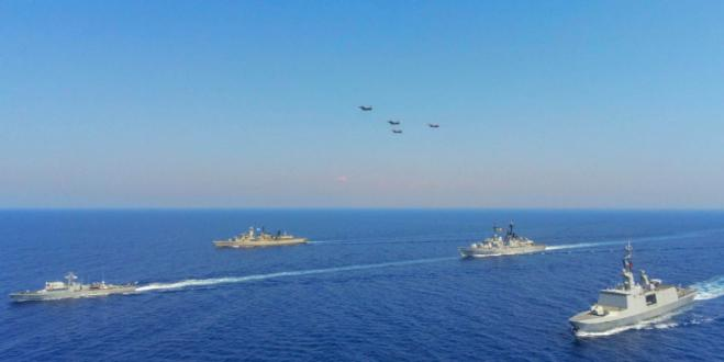 "Joint exercise ""EUNOMIA"" with Cyprus, Greece, France and Italy in progress (vid,pics)"
