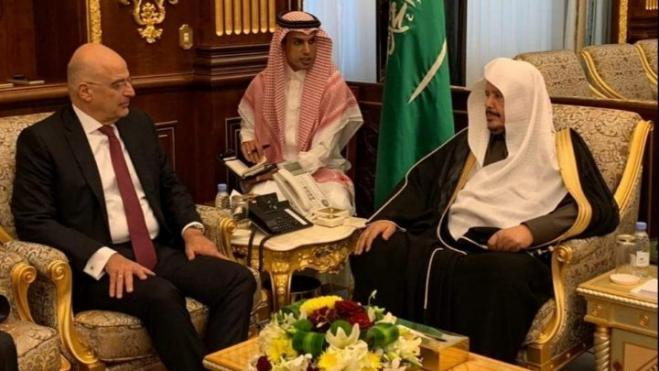 FM Dendias holds series of visits in Middle East