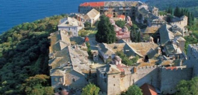 Mount Athos: Man falls 40m clutching icon of the Virgin