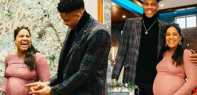 Giannis Antetokounmpo is a father