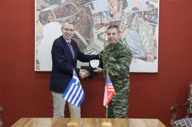 Ambassador Pyatt: 'US committed to Greece's security, prosperity, and democracy'