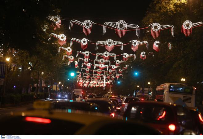 Athens gets more controversial Christmas decorations