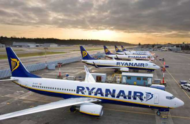 Ryanair announces two new flights from Greece