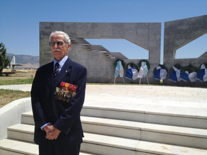 99-year-old World War II pilot Constantine Chatzilakos: 'Do not forget, pay your respects and be vigilant'