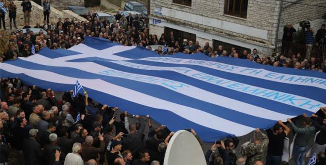 Katsifas memorial services: Albanians threats, climate of terror in Northern Epirus