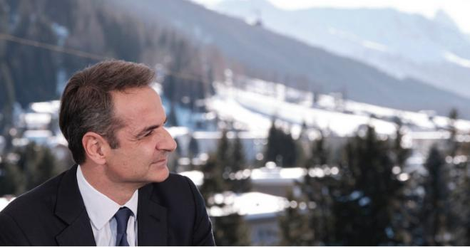Mitsotakis meets with German Minister of Defense & French Minister of Finance