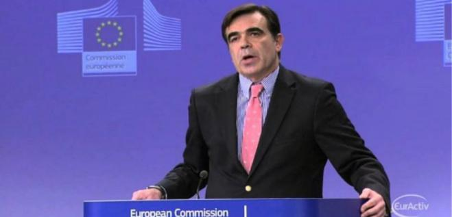 The EU Commission's support measures to Greece were presented by Margaritis Schinas