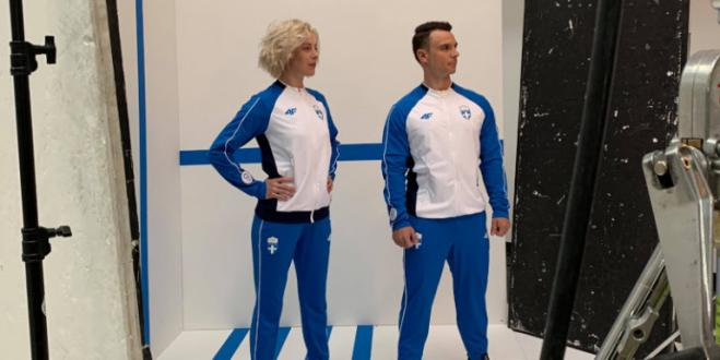First look at Olympic Games wear for Greek team