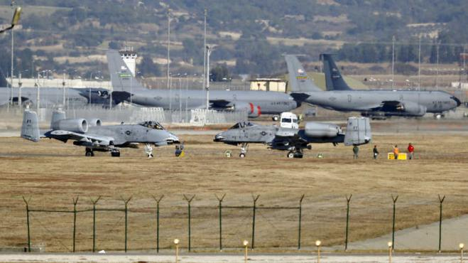 "Washington Examiner: US considers leaving Incirlik and ""sees"" alternative in Greece"