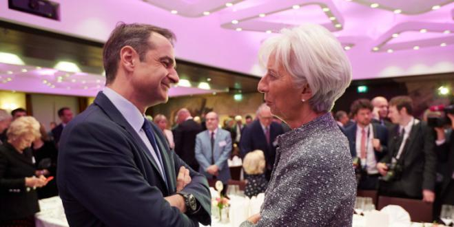 Mitsotakis to meet ECB chief Lagarde