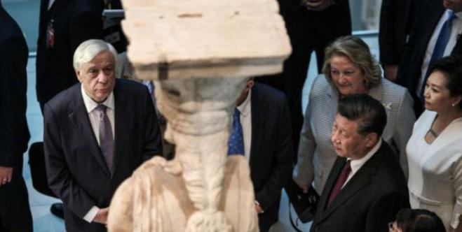 Chinese President: Not only do I agree with the return of the Parthenon Sculptures but you will have our support