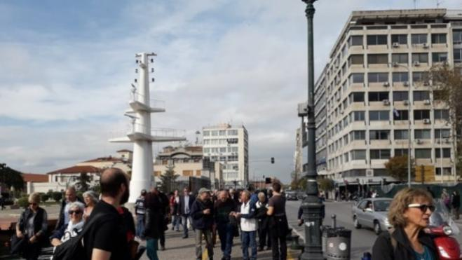 March of Silent Apology held for Thessaloniki's 'absent Jews' from WWII